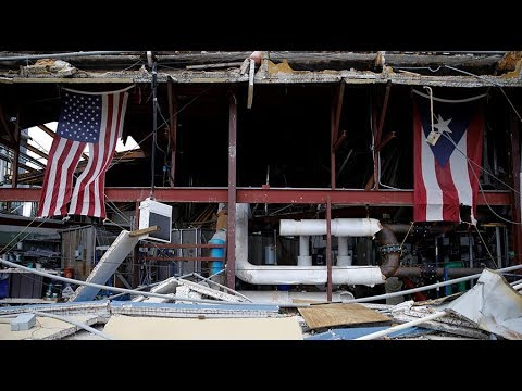 Hospitals in Puerto Rico without power, running out of food, fuel & water