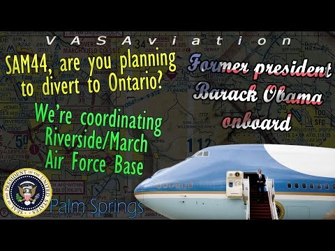 Barack Obama's LAST FLIGHT onboard AIR FORCE ONE FAILS TO LAND!