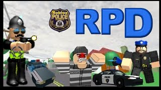 Roblox RPD #2 | A Person Was Put In Jail!