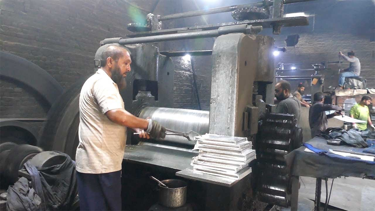 Amazing Non Stick Pan pots Making in Factory Process