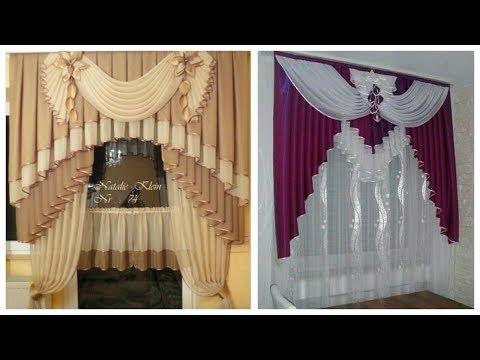 Stylish chiffon curtains designs images