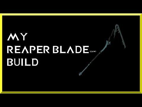 Warframe - My REAPER BLADE (zaw) Build