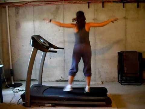 Treadmill Dance to Justin Timberlake and Esme Denters Love Dealer