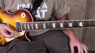 Santana - Oye Como Va - Guitar Lesson - How to Play - Santana style licks solo