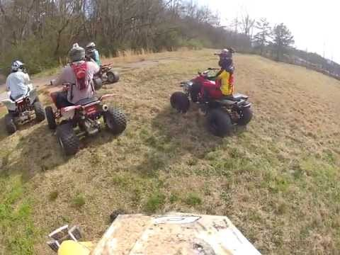 Atving at the Golf Course/Dames GoPro Cam