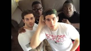 Men Vs Spider // Watch Christian DelGrosso's Vine w/ Curtis Lepore1, Jerry Purpdrank, MAX JR