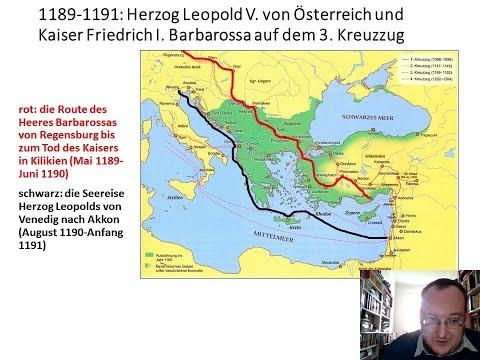 Von Ostarrichi Nach Jerusalem. Der Donauraum, Byzanz Und Die Kreuzzüge