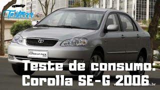 Corolla SEG 2006 - Teste de consumo