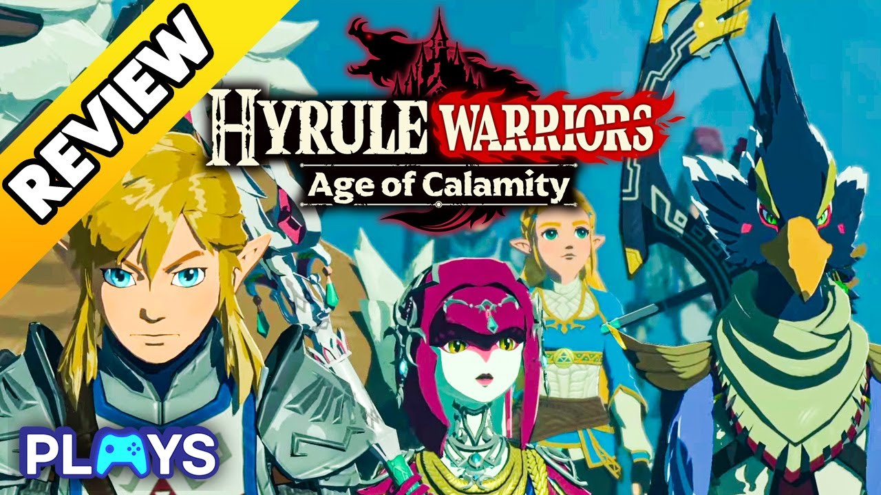 Hyrule Warriors Age Of Calamity Is An Excellent Zelda Action Game Review Youtube