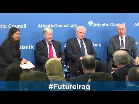 Launch of the Task Force on the Future of Iraq