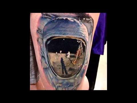 CTFxC Astronaut Tattoo Sleeve - Pics about space
