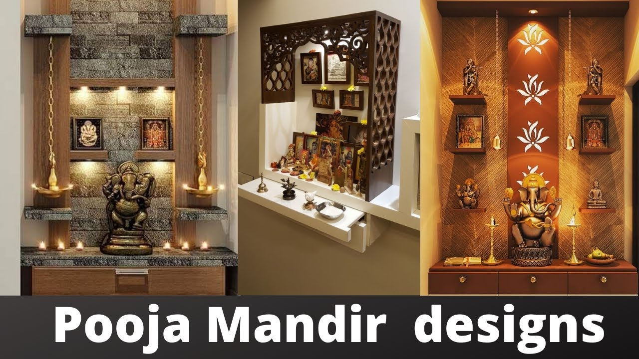 Pooja Mandir Design In Living Room Puja Room Temple Design Ideas Youtube