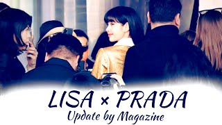 LISA at Prada Autumn/Winnter 2…