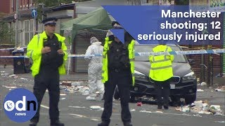Manchester shooting: 12 people seriously injured