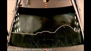 Toyota Camry 2012 v50 crash-test ncap frontal фронтальный удар