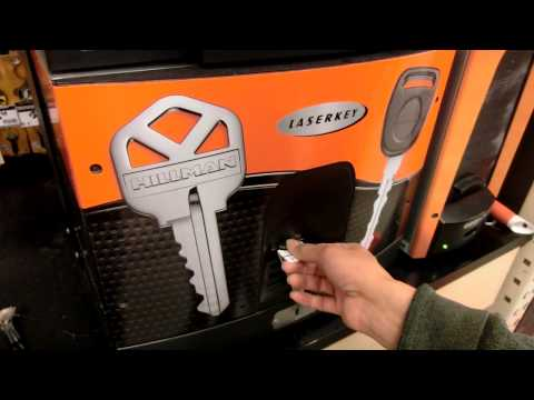 DIY Key duplication machine at Home Depot
