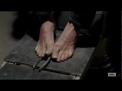 Laurie Holden's Feet  Superb  The Walking Dead