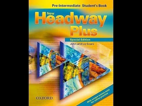 حل كتاب headway plus الازرق