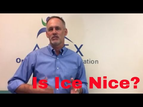 Is ice nice? Latest thoughts on Icing after an Injury