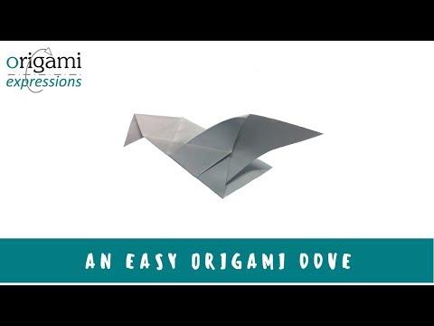 Origami dove | Origami dove, Origami diagrams, Origami easy | 360x480