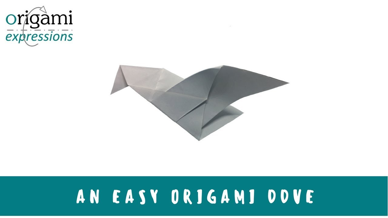 How To Make An Easy Origami Bird - Folding Instructions - Origami ... | 720x1280
