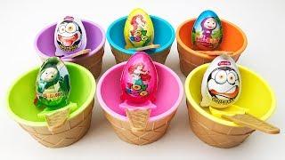 Learn colors with Surprise Eggs Unboxing Surprise Eggs Video for children Surprise Toys
