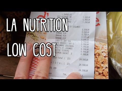 VLOG #3  La nutrition à petit budget/LOW COST (étudiant)  | Fissa Lifestyle