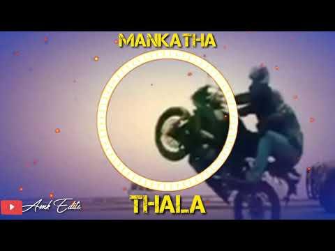 Mankatha mass bgm 😎😎 Thala style bike ride