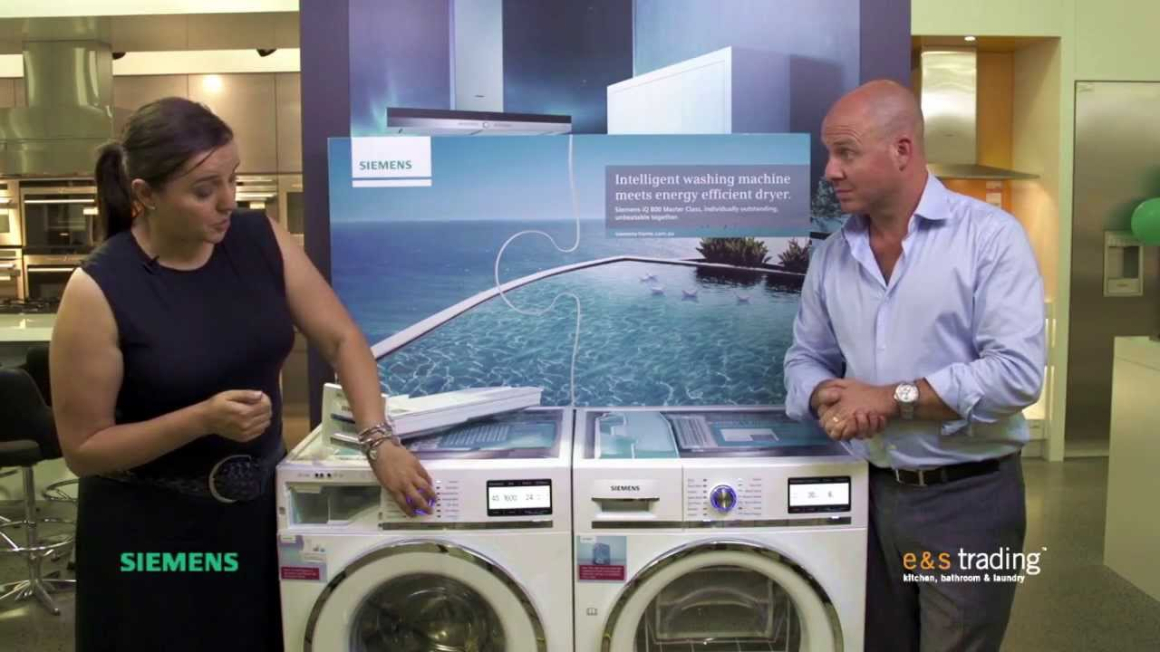siemens i dos washing machine dryer review by e s. Black Bedroom Furniture Sets. Home Design Ideas