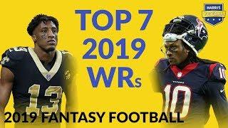 Top 7 WRs for Fantasy Football 2019