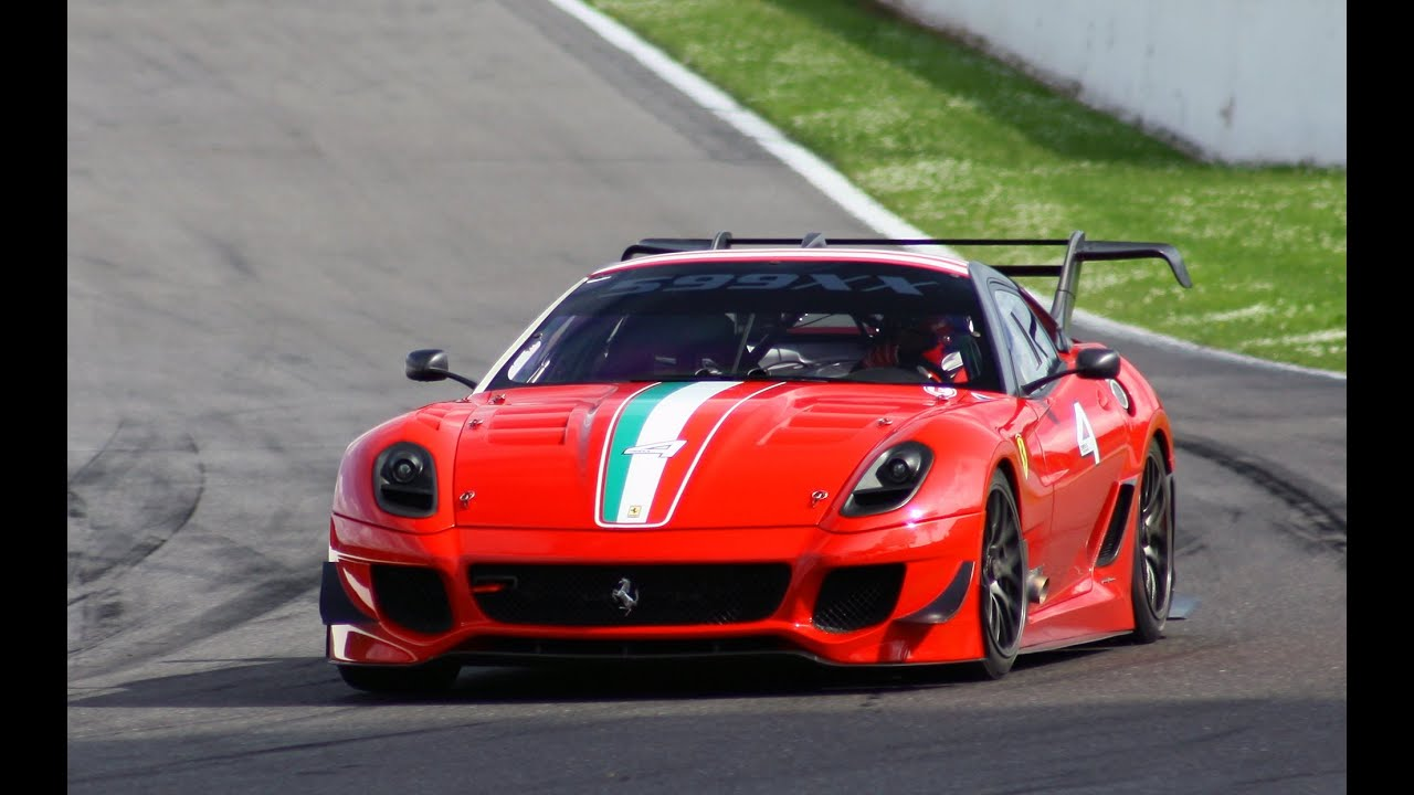 Ferrari 599XX Evolution PURE SOUND - YouTube