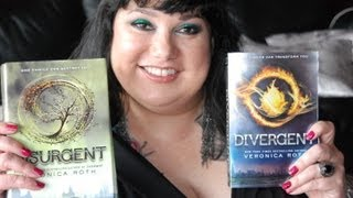 "Divergent and Insurgent by Veronica Roth Book Review ""Candy Reads segment"""