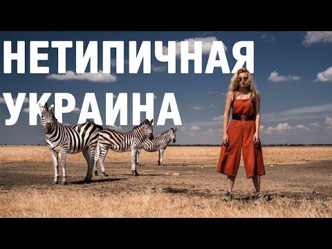 Розовые озера и зебры: маршрут по нетипичной Украине. Аскания-Нова. Олешковские пески и не только.