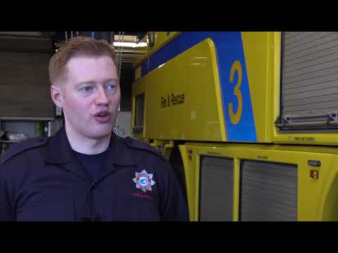 Belfast City Airport High Flyers Apprenticeship programme: Neal Rice, Aviation Firefighter