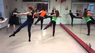 """фрагменты урока классического танца в """"Студии танцев Триумф"""""""