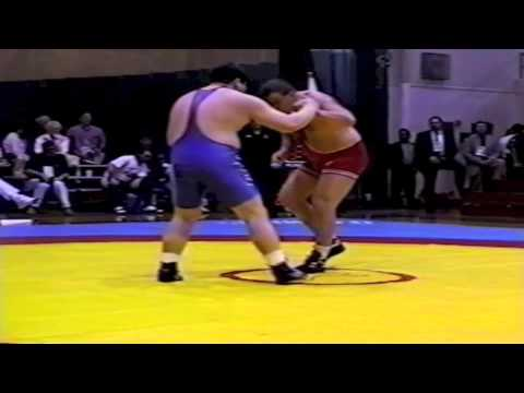 1995 World Cup: 130 kg Andrej Shumilin (RUS) vs. Toru Takiguchi (JPN)
