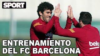 EL ENTRENAMIENTO DEL FC BARCELONA para preparar el partido ante el ALAVÉS 🏋