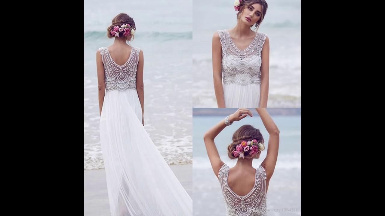 Los mejores Vestidos de novia baratos y bonitos - YouTube