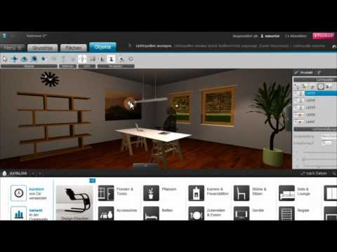 roomeon 3d planer tutorial 5 licht beleuchtung youtube. Black Bedroom Furniture Sets. Home Design Ideas