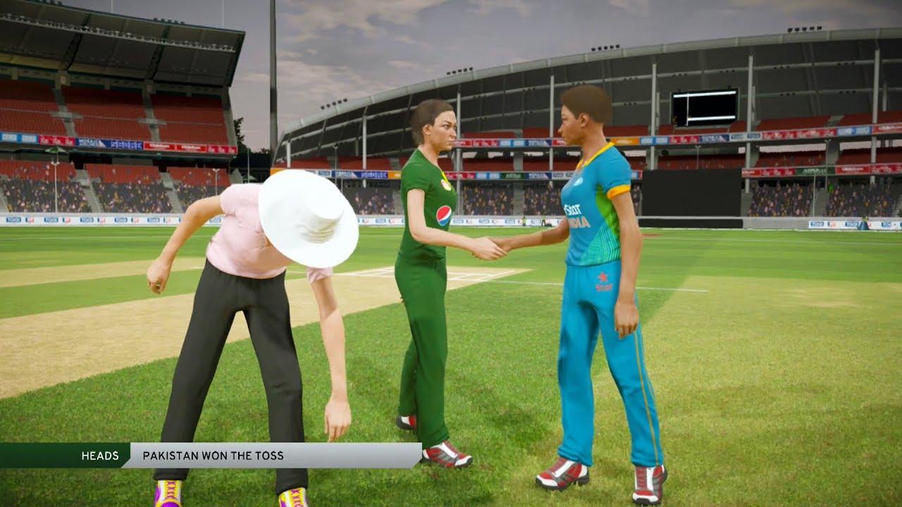 India vs Pakistan Women World Cup 2017 -Don Bradman Cricket 17