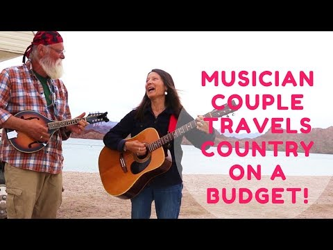 Musician Couple Traveling in a Class C