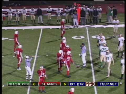 High School Football: New Life Academy vs. St. Agnes (1st half)