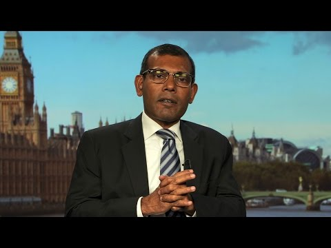Climate Hero & Former Maldives President Mohamed Nasheed Gets UK Asylum After Ouster & Jailing