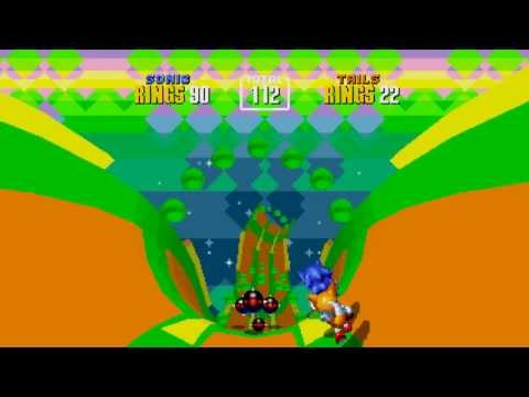 Sonic 2 (2013): All Special Stages (No Damage) - Sonic and Tails