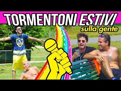 TORMENTONI ESTIVI SULLA GENTE 🎤☀️| Matt & Bise