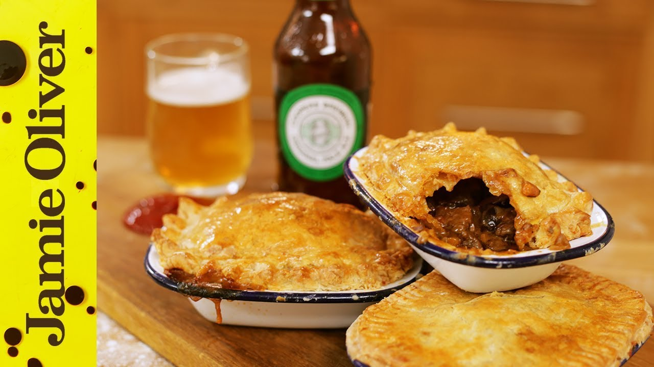 Jamie's Beef and Ale Aussie Meat Pie | Happy Australia Day!