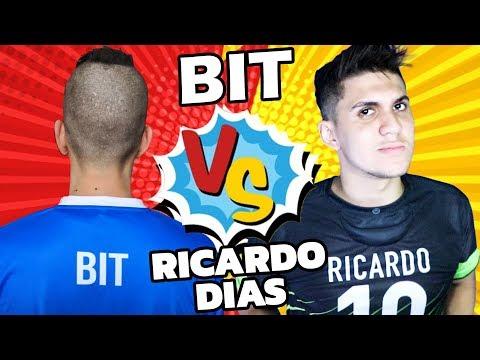 Bit Fut x Ricardo Dias - BATALHA DE CANAIS 💪 (FIFA 19)