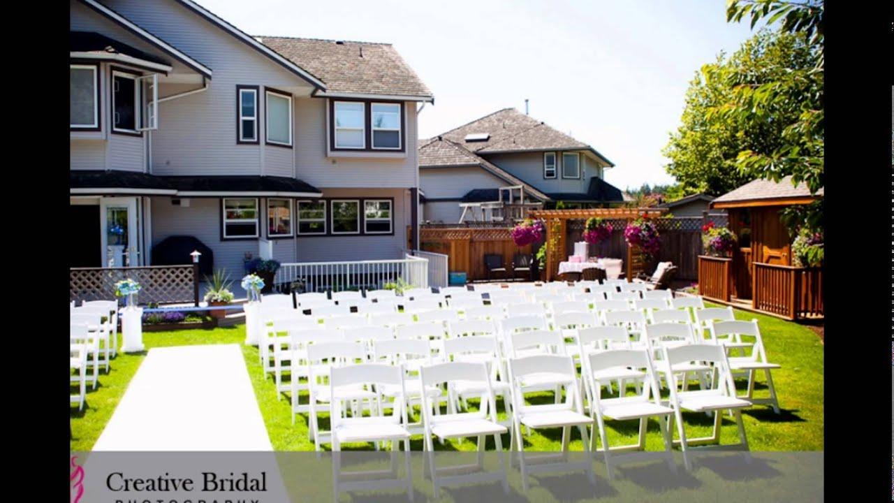 Backyard Wedding | Backyard Wedding Ideas | Backyard ...