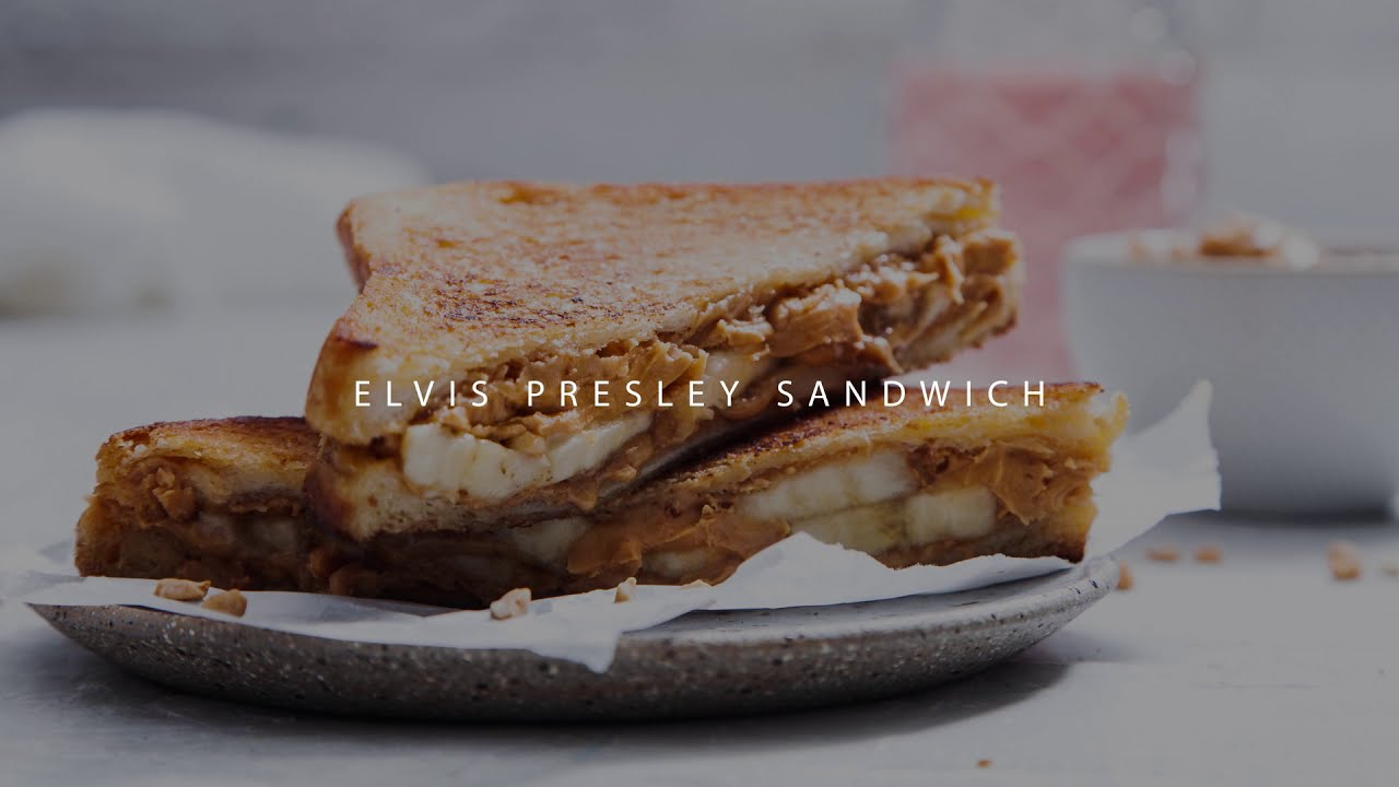 Elvis Presley Sandwich Fried Peanut Butter And Banana Youtube