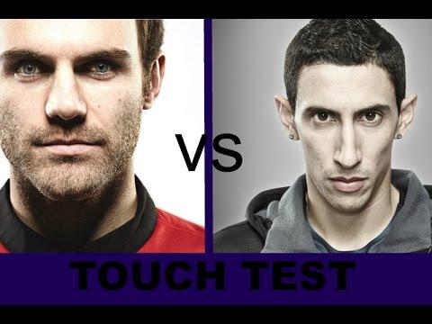 Ángel Di María vs Juan Mata - Touch Test...